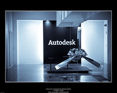 Entrance to Autodesk One Market Gallery