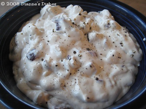 Daring Bakers Challenge September 2008: Vegan Caramelized Blue Cheese Dip