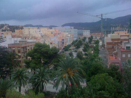 Foto panaramica cartagena españa hecha con el Iphone 3g