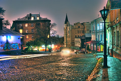 Night autumn fairy-tale... (lights2008) Tags: old city history colors architecture fairytale night dark fun evening colours ukraine kiev  hdr mystic oldarchitecture bulgakov  mystics  oldcastle   oldhistory masterandmargarita nightkiev kartpostal bej abigfave tamron175028  dreamphoto  onephotoweeklycontest rubyphotographer