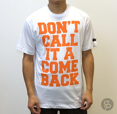 Starter Come Back Tee - White