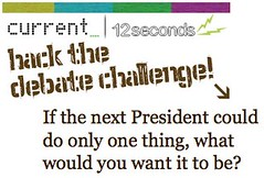 Hack the debate sur 12seconds.tv
