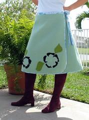 Blanket Skirt Front