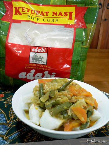 Ketupat & Sayur Lodeh