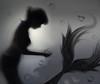 silhouette ~19 (-justk-) Tags: shadow copyright silhouette bubbles mermaid golddragon oldschooldigital ysplixblack burbujasbubbles couldnthelpitbutthiswastheonlysongthatcametomymind allmyimagesarecopyrighted©allrightsreserveddonotusecopyandeditmyimageswithoutmypermission
