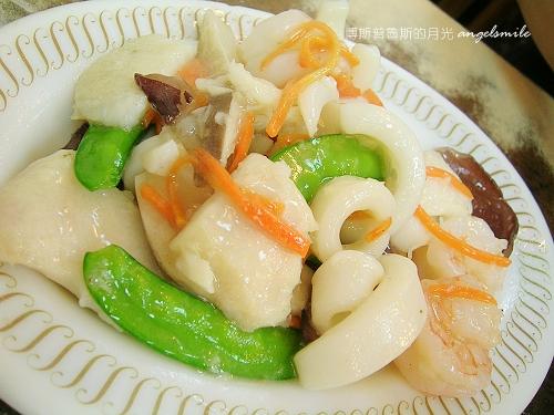 百合燒臘-炒三鮮