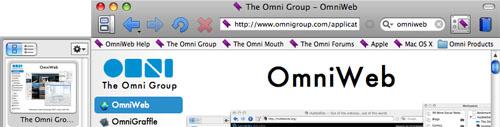 Captura de pantalla de OmniWeb