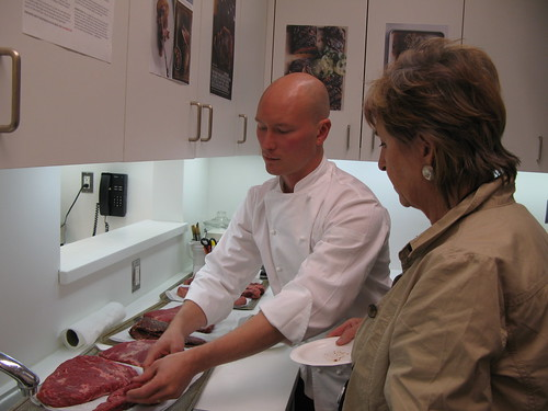 Gourmet Recipe Editor Ian Knauer talking about cuts of meat