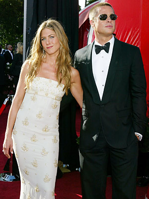 Jennifer Aniston Brad Pitt Wedding Pictures. rad pitt and jennifer aniston