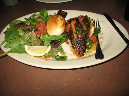 blackened grouper