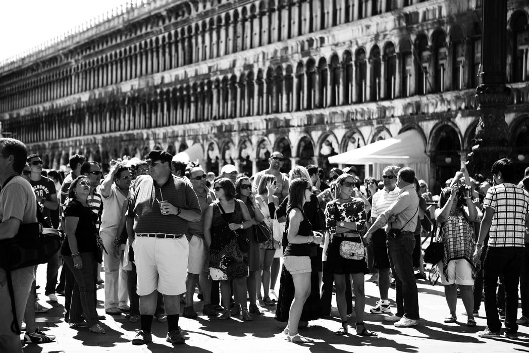 Piazza San Marco a Venezia, Italia