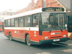 GM Buses 701 J461OVU, Wigan 26-8-93 (GMB 5120 (Mark)) Tags: wigan paladin gmbuses northerncounties j461ovu