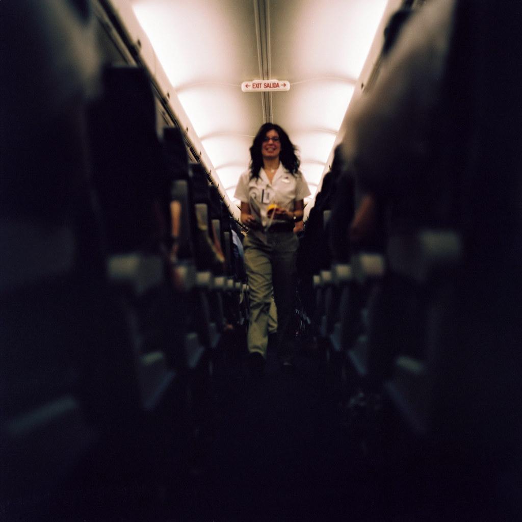 """A """"Flight Attendant"""""""