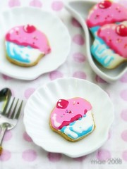 Fancy Cupcake Cookies