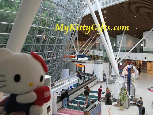Hello Kitty at Kuala Lumpur Airport