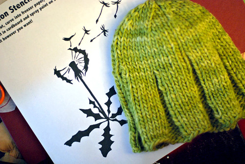 dandelion and hat