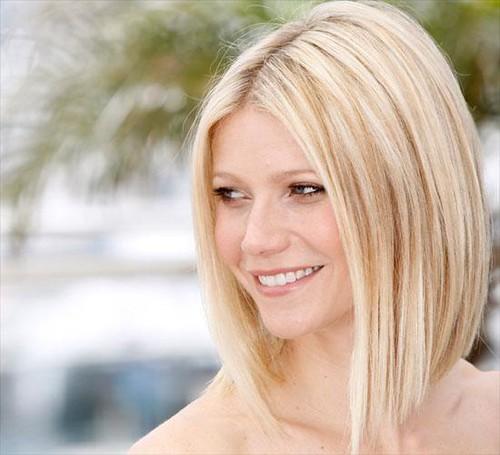 Tagli di capelli medi biondi