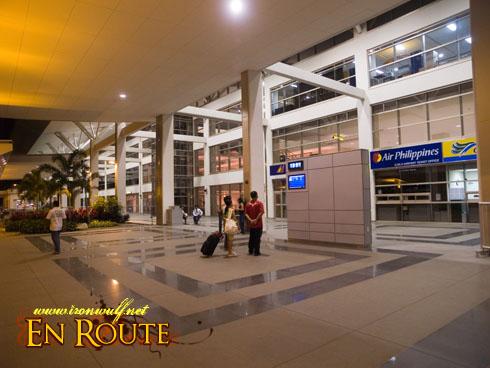 Outside Iloilo Airport