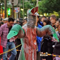 Snakeman Kawasaki Halloween 2008 41