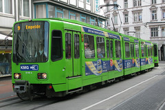 stra 6148 [Hannover tram] (Howard_Pulling) Tags: germany deutschland tram hannover german hanover trams ustra tw6000