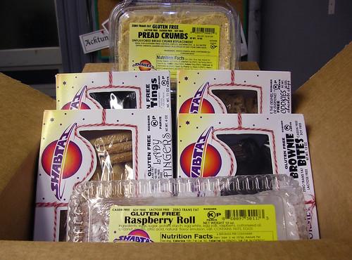 Shabtai Gourmet Gluten-Free Samples
