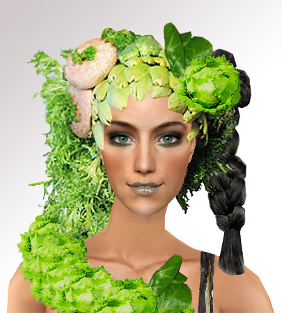 GNTM 3 - Food Shooting [Sims 2] by Technomicky.