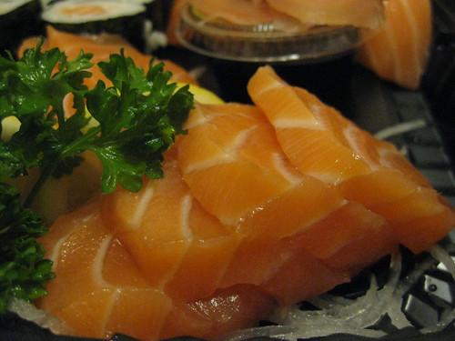 Au saumon