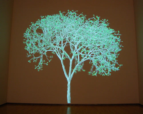Animated tree by Jennifer Steinkamp
