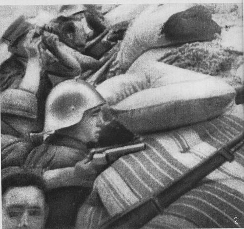 Combates en Zocodover el 22 de julio de 1936
