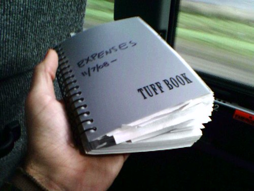 My expenses book