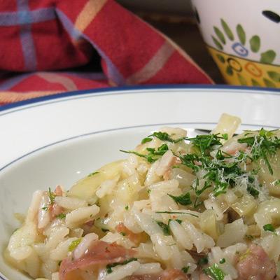 fennel risotto