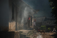 Country Home (zhuangdaren) Tags: china people animals trekking buildings countryside ancient asia guilin yangshuo traditional chinese ethnic minority minzu