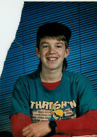 Tyler 7th Grade Mullet