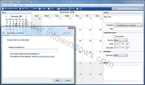 how to get most out of Windows calendar pic2
