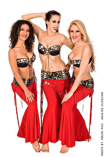 Tava, Sarah Skinner, Kazja in Lust costumes