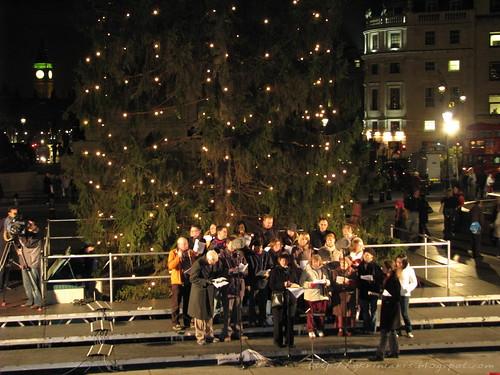 Carols @ Trafalgar square