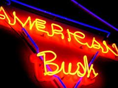 american bush neon