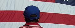 Barack Obama in West Philadelphia header (egadapparel) Tags: usa philadelphia america kid child pennsylvania flag patriot westphilly philadephia egad westphiladephia barackobamarally egadaparel