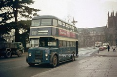 G & G of Leamington Spa (Lady Wulfrun) Tags: red gg ambulance fluorescent triumph leamington morris spa herald midland leyland operated streetlighting pd2 midlandred 4056 forddseries ld8 sha456