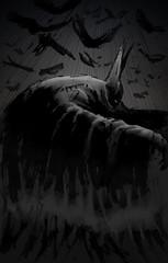 (-Antoine-) Tags: illustration dc drawing bat dessin superhero batman 1995 dccomics nineties bats superheros 90s chauvesouris superhros u4c antoinerouleau
