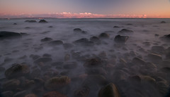 Misty Water in the Morning (Xindaan) Tags: ocean longexposure morning sea fab sky beach nature water clouds strand sunrise germany landscape geotagged island deutschland dawn twilight nikon bravo rocks meer wasser natur himmel wolken baltic tokina insel steine dmmerung polarizer rgen landschaft sonnenaufgang ostsee morgen 2009 soe ruegen 116 manfrotto binz langzeitbelichtung d300 rugen 1116 supershot neutraldensity outstandingshots flickrsbest 460mg mywinners platinumphoto 055mf4 anawesomeshot ultimateshot theunforgettablepictures thatsclassy 1116mm fbdg multimegashot rubyphotographer atx116prodx neutraldichtefilter 1116mmf28 vosplusbellesphotos 281116 atomicaward