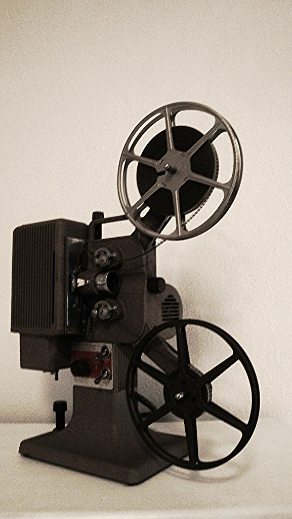 16mm Reel Movie Projectors: The World's Best Photos Of Projector And Spool