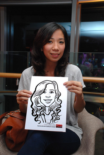 Caricature live sketching for TLC - 41
