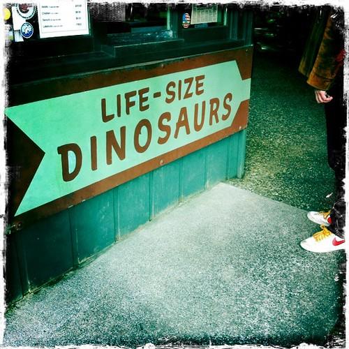 Life-Size Dinosaurs!