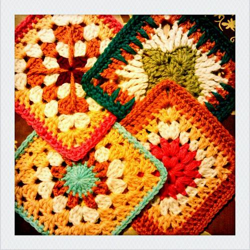 wool squares