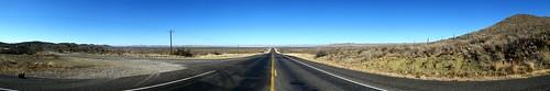 Plateau 15 miles east of Marathon, Texas, USA