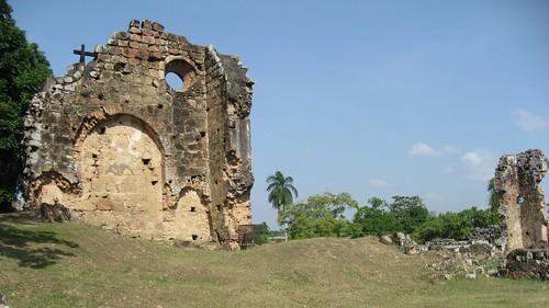 Panama viejo, ruinas de la antigua ciudad