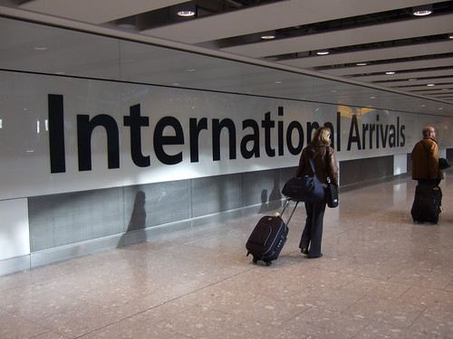 International arrivals by James Cridland, on Flickr