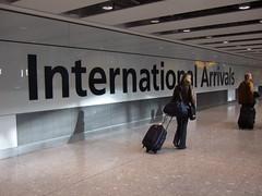 International arrivals (James Cridland) Tags: london airport heathrow 5 terminal british airways baa lhr
