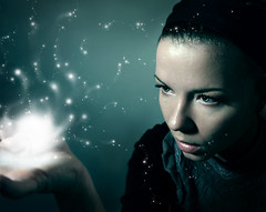 . enchantment (di.SUN.ity) Tags: blue light portrait selfportrait me self hand magic spell enchantment magie zauber corinnebaileyrae verzaubert aplusphoto disunity katrinlindner